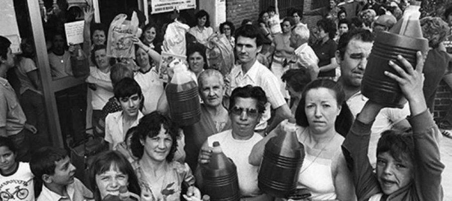 El café de la historia - Sindrome tóxico aceite de colza