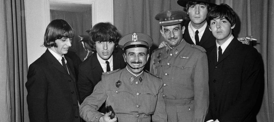 El café de la historia -Beatles en Barcelona