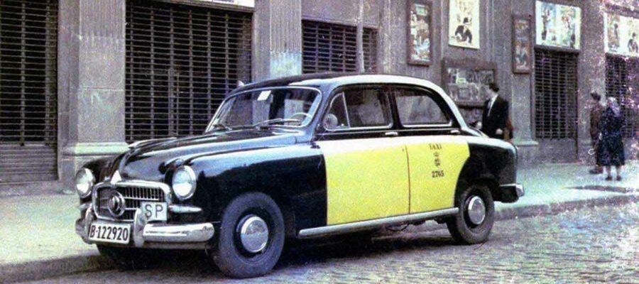 El café de la historia - El color de los taxis en Barcelona