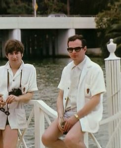 Brian Epstein y John Lennon