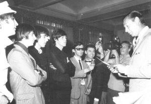 Los Beatles en la rueda de prensa de Madrid Los Beatles en España