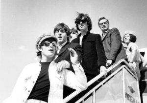 Los Beatles llegando a Barajas, 1965 Los Beatles en España