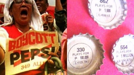 El café de la historia -Pepsi 349 Filipinas