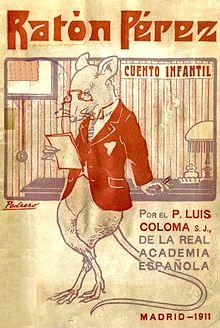 Libro ilustrado de Ratón Pérez de 1911