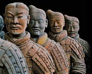 Los guerreros de terracota falsos de Galerías Preciados