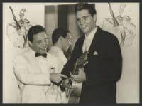 Torrebruno y Elvis Presley