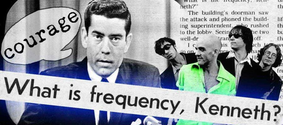 El café de la historia - What's the frequency Kenneth