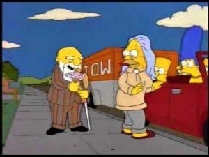 El abuelo Abraham Simpson