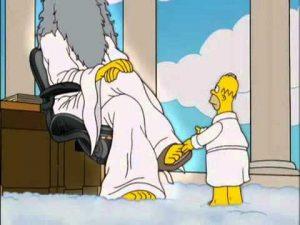 Homer  y Dios