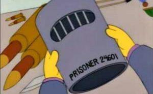 La mascara de prisionero en Vietnam de Skinner