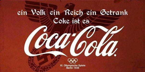 Propaganda nazi de Coca Cola