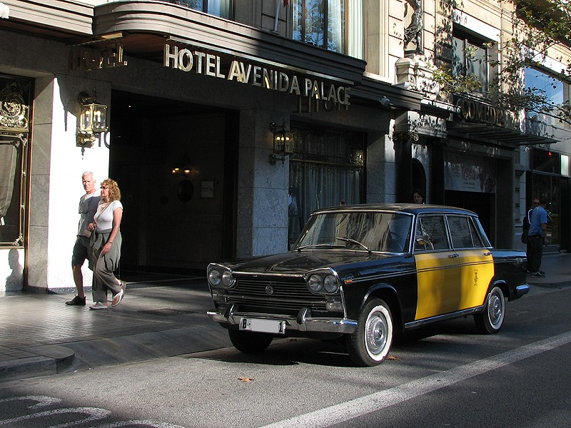 Seat 1500 taxi Barcelona
