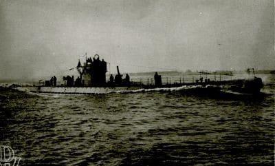 El U 518 del que emergió Janowski