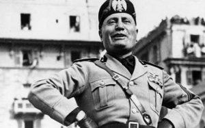 Mussolini, candidato a Premio Nobel de la paz