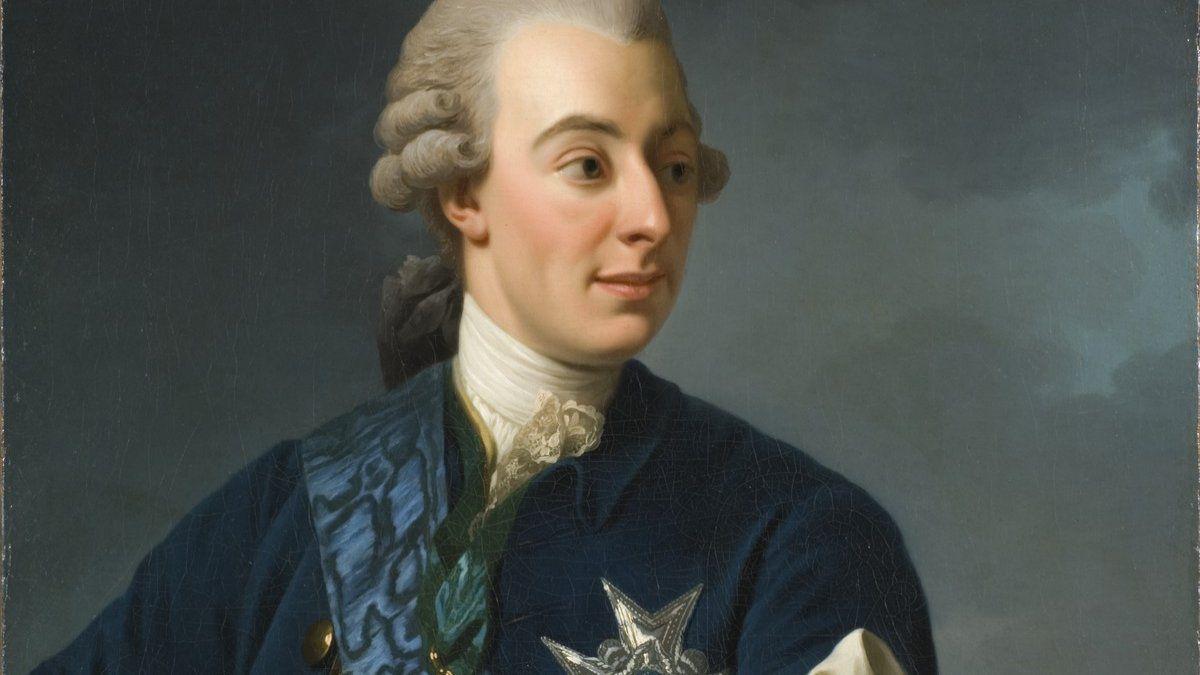 El experimento del café de Gustavo III
