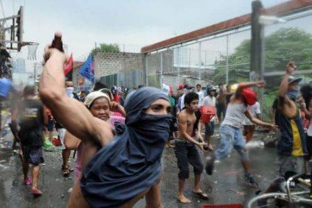 Disturbios en Filipinas a causa de Pepsi