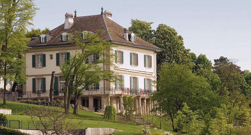 Villa Diodati en la actualidad