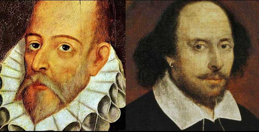 Cervantes y Shakespeare - el café de la historia