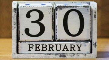 El café de la historia - El único 30 de febrero de la historia