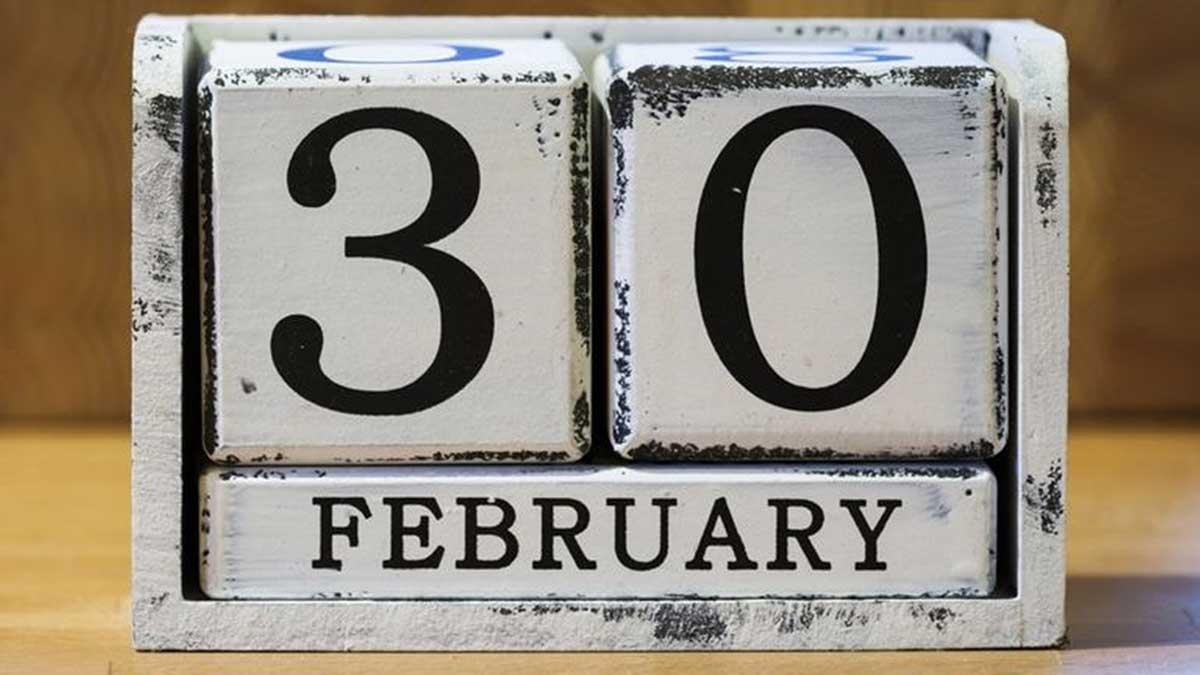 El único 30 de febrero de la historia