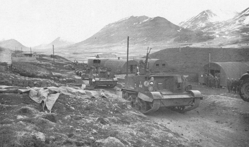El correctivo a Islandia: la Operación Fork