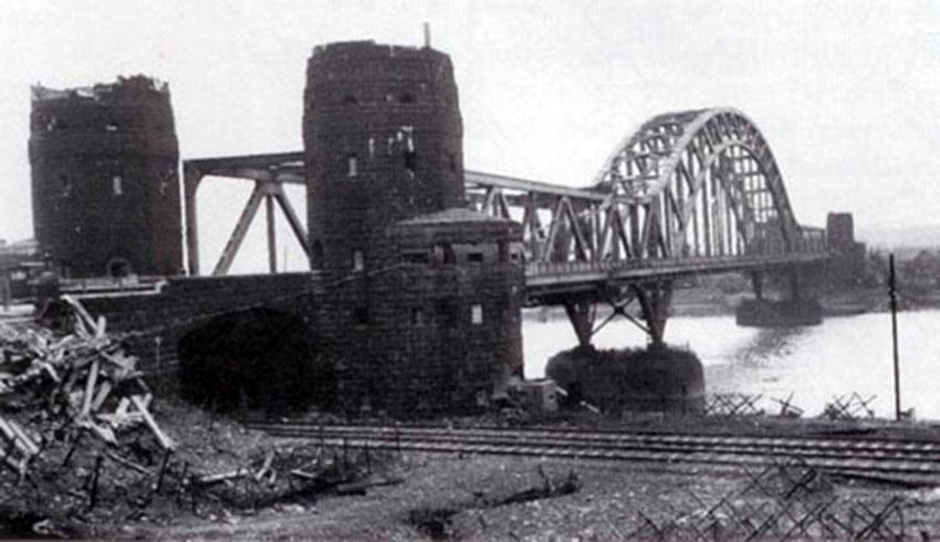 El puente de Remagen original