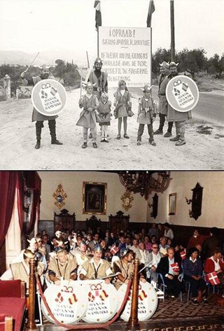Celebraciones del acuerdo de paz que puso final a la guerra de los 172 años entre Huéscar y Dinamarca