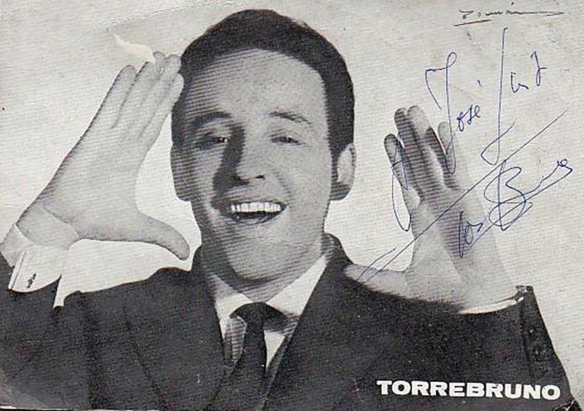 Torrebruno, presentador de los Beatles en España