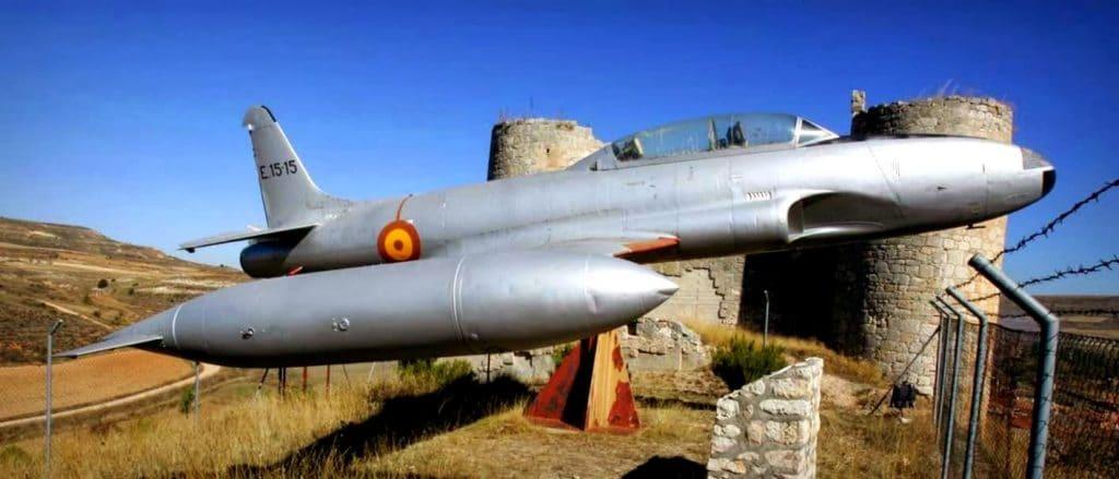 El T-33 en recuerdo de Diego Marín
