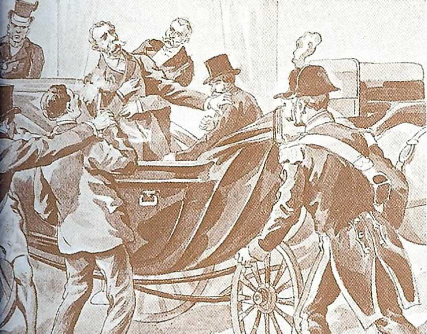 Asesinato de Umberto I y su doppelgänger