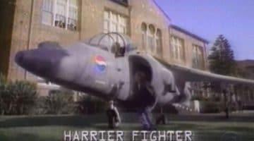 Pepsi y el Harrier - el café de la historia