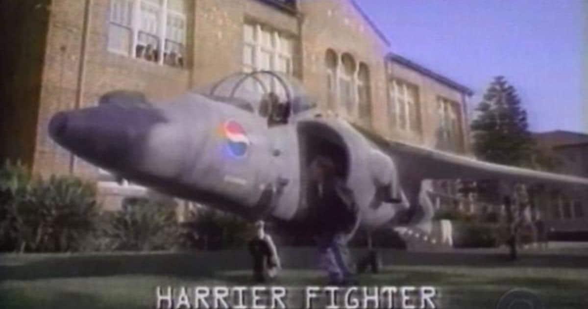 La pifia de Pepsi y el Harrier