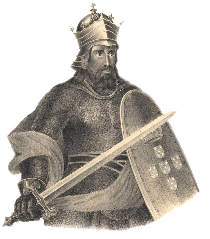 Alfonso I de Portugal - el café de la historia