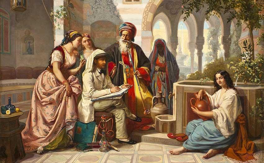 Proverbios árabes- el café de la Historia
