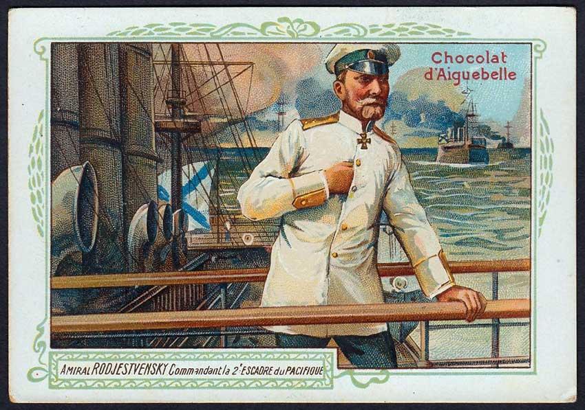 La caótica travesía de la flota rusa del Báltico - El café de la Historia El Almirante Rozhéstvenski al borde de un ataque de nervios