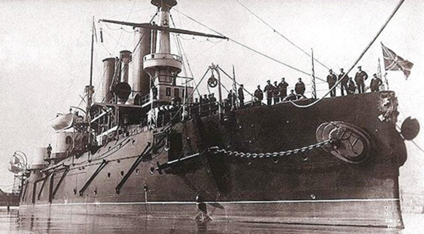 La caótica travesía de la flota rusa del Báltico - El café de la Historia