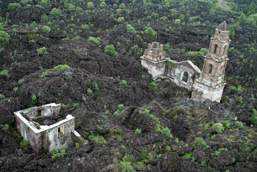 San Juan de Parangaricutiro, la Pompeya mexicana