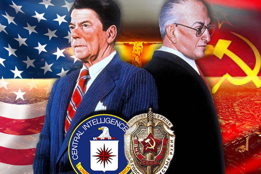 Reagan y Andropov