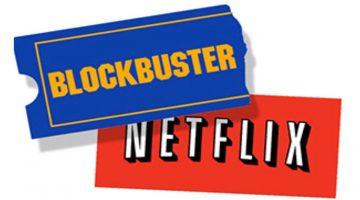El café de la historia - Netflix versus Blockbuster
