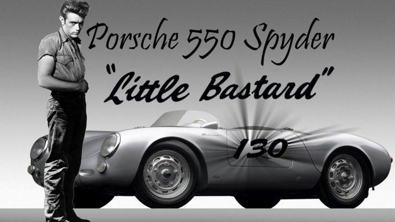 El Porsche maldito de James Dean