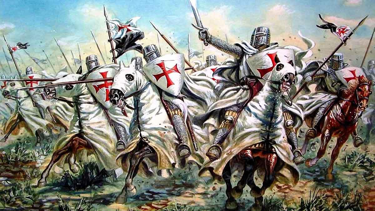 Camisetas de Templarios - el café de la historia
