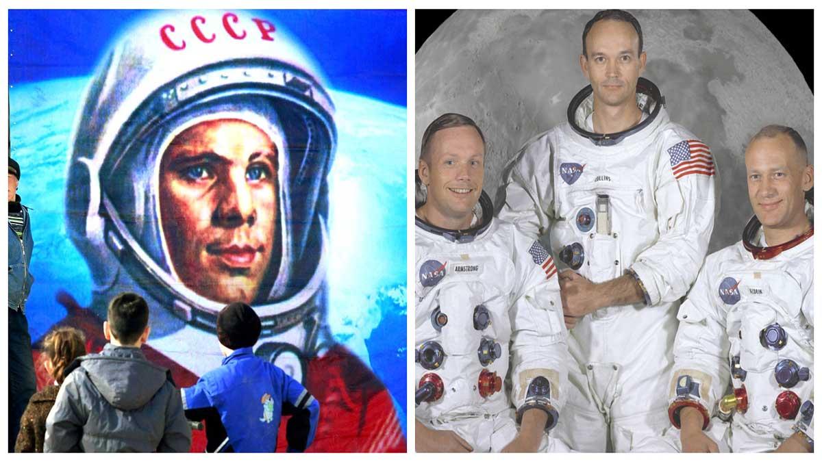 Camisetas carrera espacial - el café de la Historia