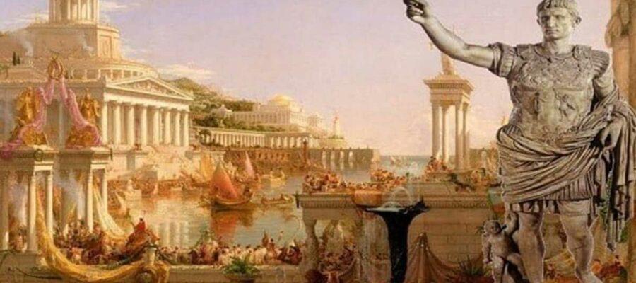 Camisetas Antigua Roma - el café de la historia