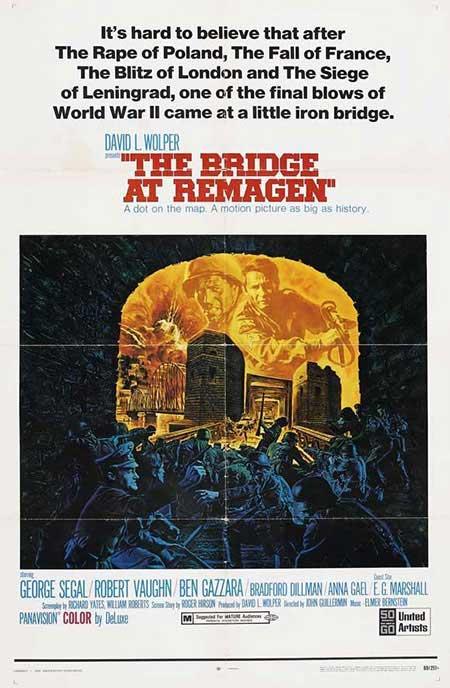 Cartel de El puente de Remagen