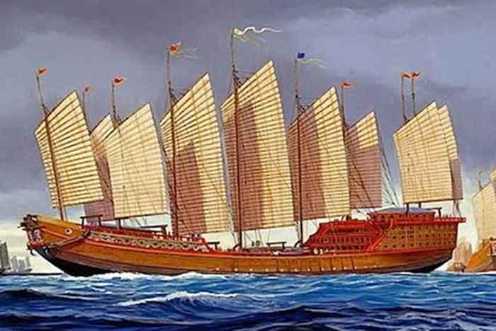 LOS COMBATES DE CAGAYÁN Un junco, la embarcación más grande de la época