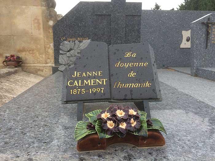 Tumba de Jeanne Calment