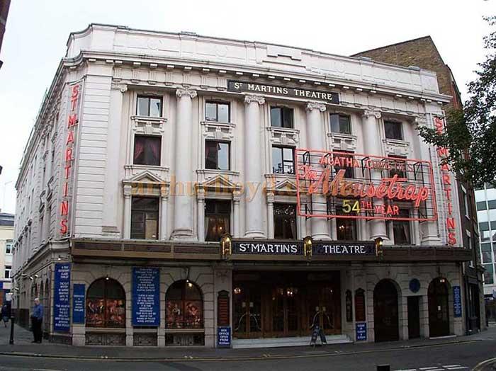 Agatha Christie - la ratonera El Teatro St Martins