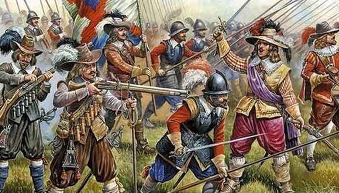 Arcabuceros tercios españoles, batalla de Bicoca