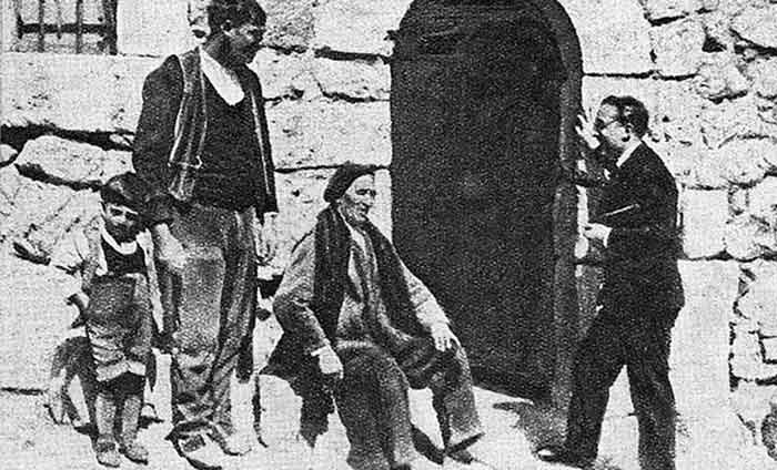 Eduardo de Ontañón investigando la hazaña de Diego Marín
