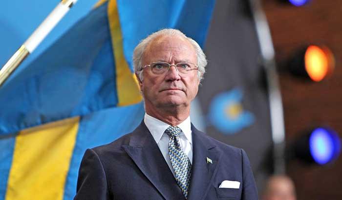 Carlos XVI Gustavo, actual rey de Suecia